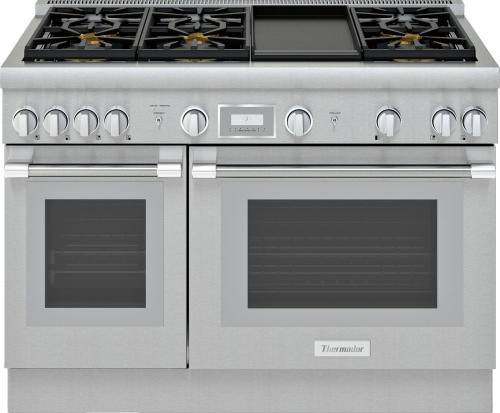 small resolution of thermador pro harmony prg486wdh 48 inch standard depth gas range
