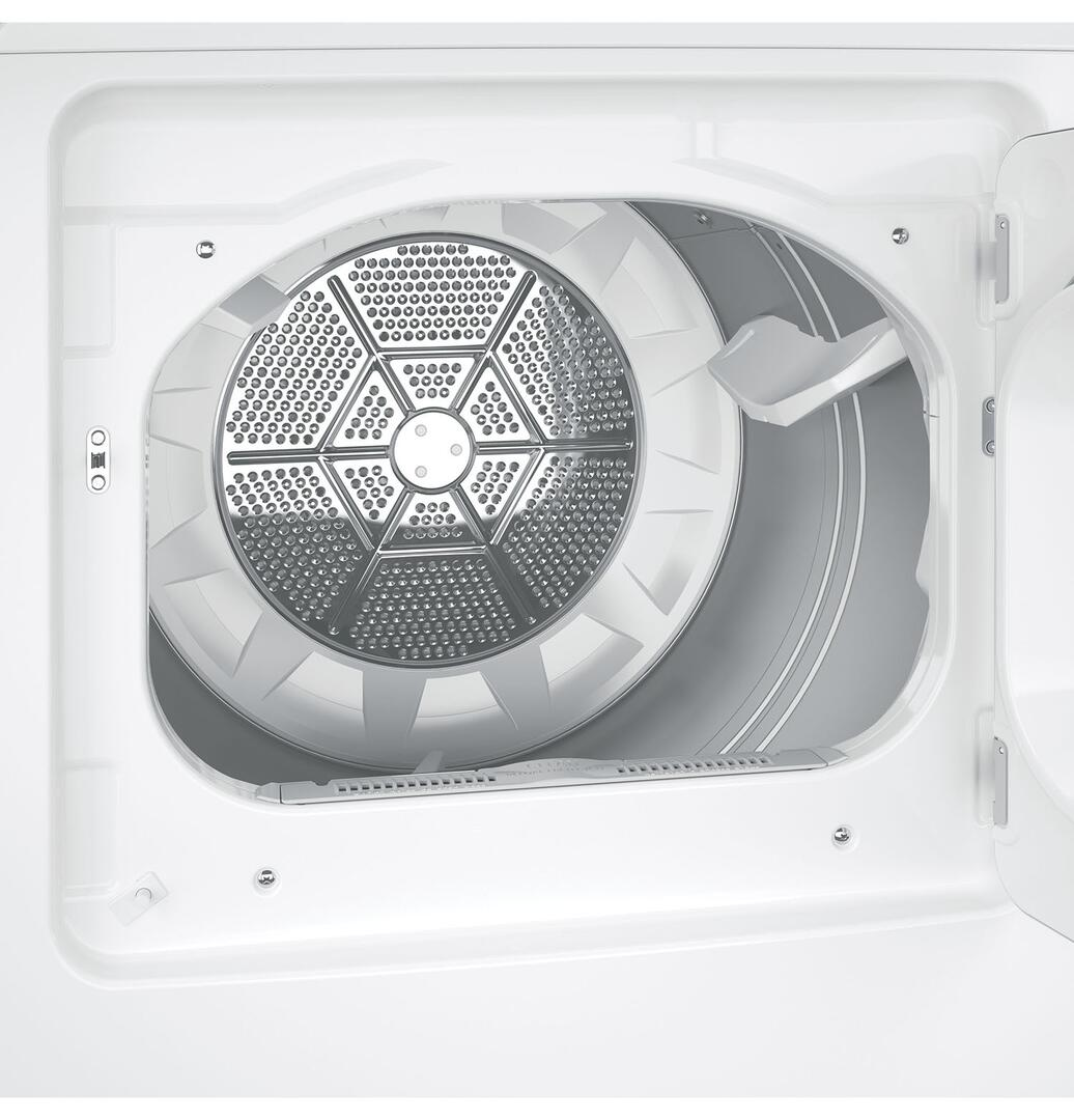 GE GTD65EBSJWS 27 Inch White 74 Cu Ft Electric Dryer Appliances Connection