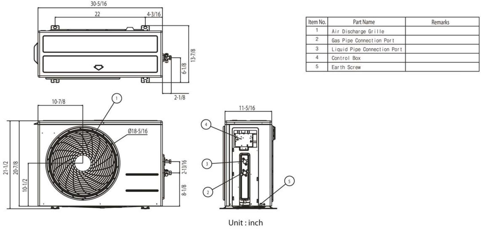 Lg La090hvp Air Conditioner Cooling Area Adjustable Air