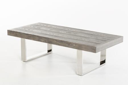 VIG Furniture VGVCCT8922GRY Veneer Table Appliances