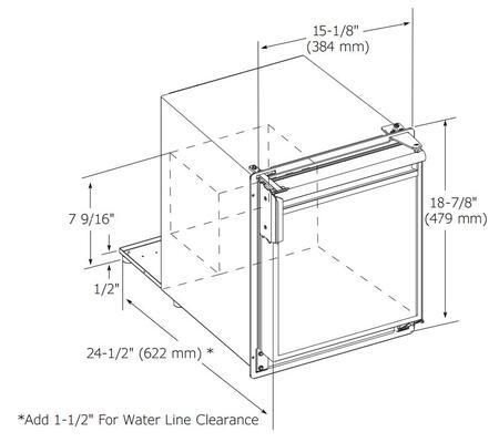 U-Line ULNSP18FCB03A Freestanding Ice Maker with 23 lbs