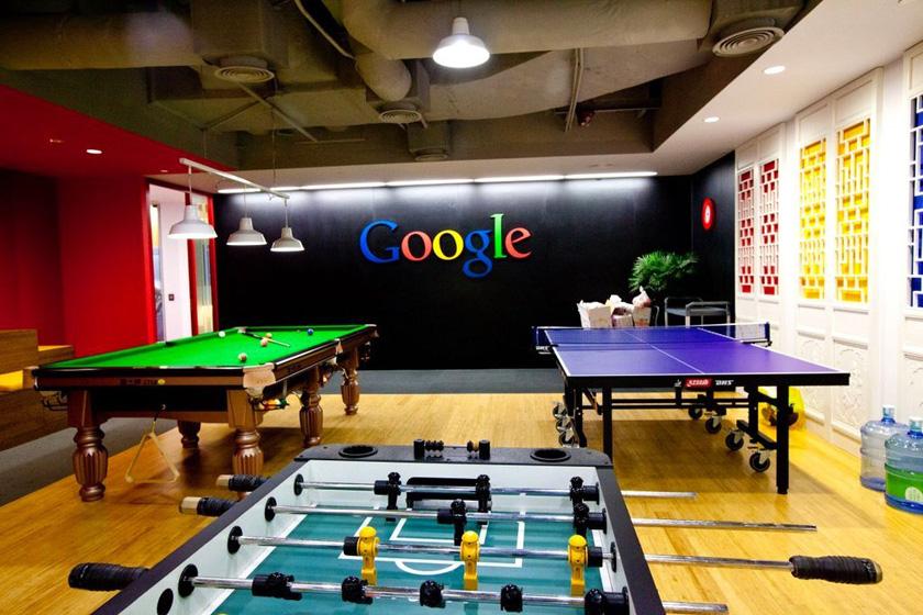 谷歌公司上海新居一瞥_圖片頻道_財新網