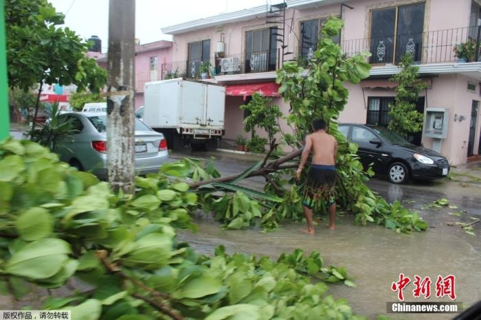 Tropical storm Pamela will become a hurricane that will hit Mexico or cause flash floods