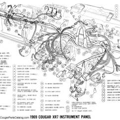 2002 Mercury Cougar Parts Diagram Of A Light Bulb Manual - Complete Electrical Schematic Free Download ~ 1969 (90006) At West ...