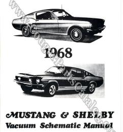 manual vacuum schematic w cougar headlight schematic repro 1968 mercury cougar 1968 ford mustang shelby 1968 mercury cougar 1968 ford  [ 1028 x 1324 Pixel ]
