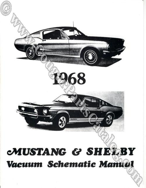 small resolution of manual vacuum schematic w cougar headlight schematic repro 1968 mercury cougar 1968 ford mustang shelby 1968 mercury cougar 1968 ford