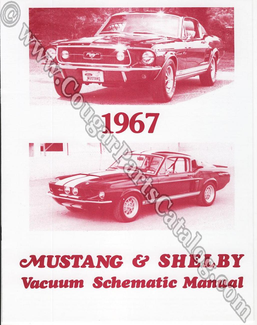 hight resolution of vacuum schematic manual repro 1967 mercury cougar 1967 ford mustang shelby