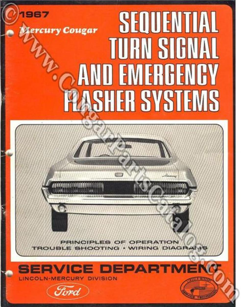 medium resolution of manual sequential turn signal service of operation free download 1967 mercury cougar 1967 mercury cougar at west coast classic cougar the