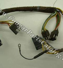 taillight wiring harness standard early before 1 3 1967taillight wiring harness standard early before 1 3 1967 grade a used 1967 mercury cougar 1967  [ 1028 x 771 Pixel ]