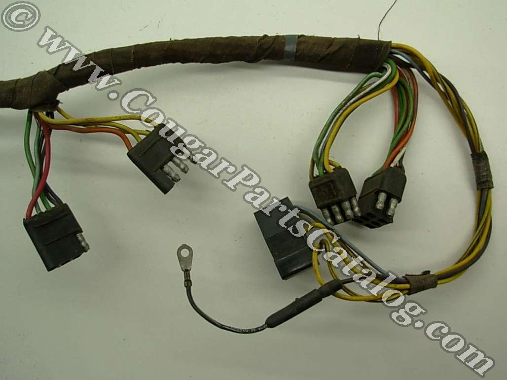 hight resolution of taillight wiring harness standard early before 1 3 1967taillight wiring harness standard early before 1 3 1967 grade a used 1967 mercury cougar 1967