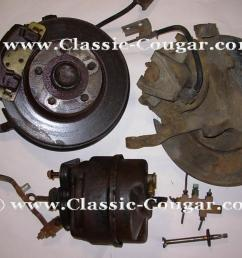 disc brake conversion power w new rotors used 1970 mercury cougar 1970 ford mustang 1970 mercury cougar 1970 ford mustang at west coast  [ 1028 x 771 Pixel ]