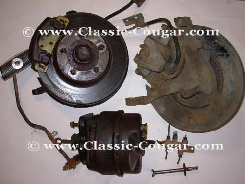 small resolution of disc brake conversion power w new rotors used 1970 mercury cougar 1970 ford mustang 1970 mercury cougar 1970 ford mustang at west coast