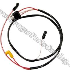 wire assembly dash to engine gauge feed 351c repro 1971wire assembly dash to engine gauge [ 1028 x 771 Pixel ]