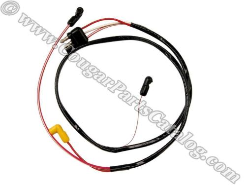 small resolution of wire assembly dash to engine gauge feed 351c repro fits 1971