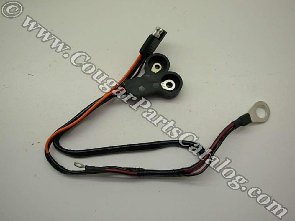 medium resolution of mustang wire harness wiring libraryalternator wiring harness 289 302 xr7 economy repro fits 1967