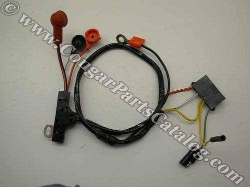 small resolution of alternator wiring harness w o gauges economy repro 1972 1968 mustang wiring diagram 1969 cougar wiring harness