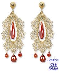 baroque jewelry renaissance gem pastel trend