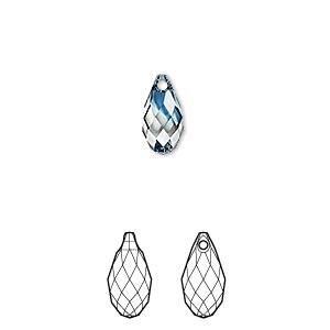 Drop, Swarovski® crystals, Crystal Blend Colors, Crystal