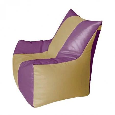 mushroom bean bag chair dining covers for home rest n sleep classic dark purple xxxl