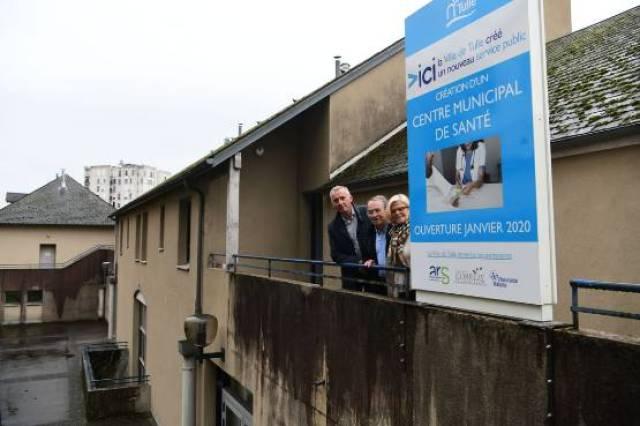 Corrèze : le centre de santé municipal de Tulle qui accueillera trois généralistes est en chantier