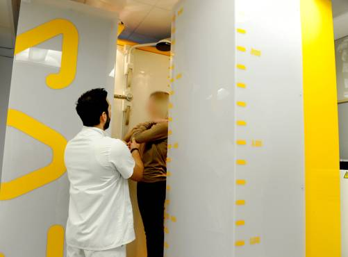 Une nouvelle technique d'imagerie médicale limite la dose de rayons X à la Polyclinique de Limoges