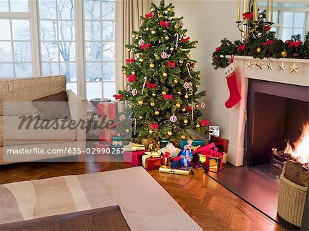 Christmas Tree In Living Room Home Design Part 65