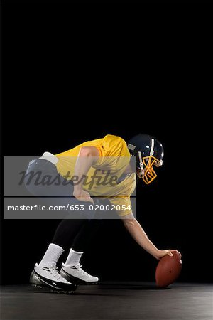 An American football player Stock Photo - Premium Royalty-Free, Code: 653-02002054