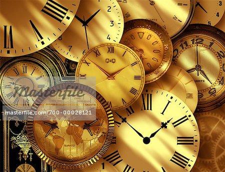 clocks stock photo masterfile