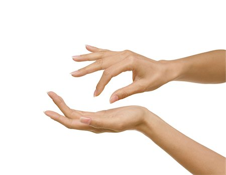 cupping hands stock photos