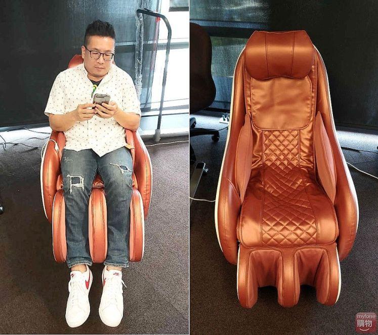 蔡依林代言tokuyo按摩椅 Mini 玩美椅PLUS TC-292實機開箱體驗