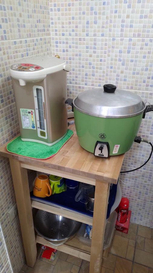 廚房熱水瓶煮開水