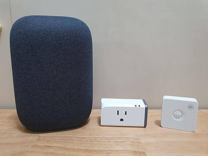 用 Google Nest Audio 智慧音箱來聲控