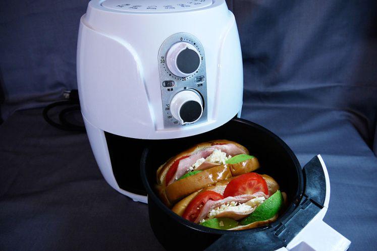 用氣炸鍋做早餐