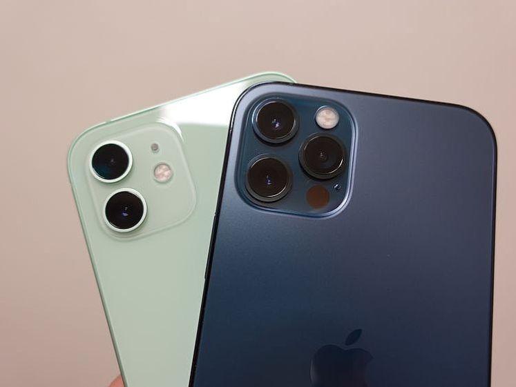 iPhone 12 與 iPhone 12 Pro 攝影鏡頭