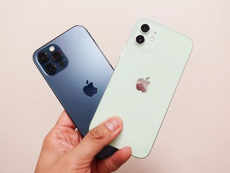 Apple iPhone 12、iPhone 12 Pro 開箱規格比較,該買哪一支蘋果5G手機?