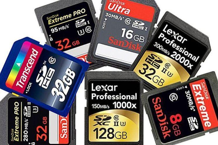 目前兩種主流的SD卡速度規範,不同的符號代表著不一樣的速度
