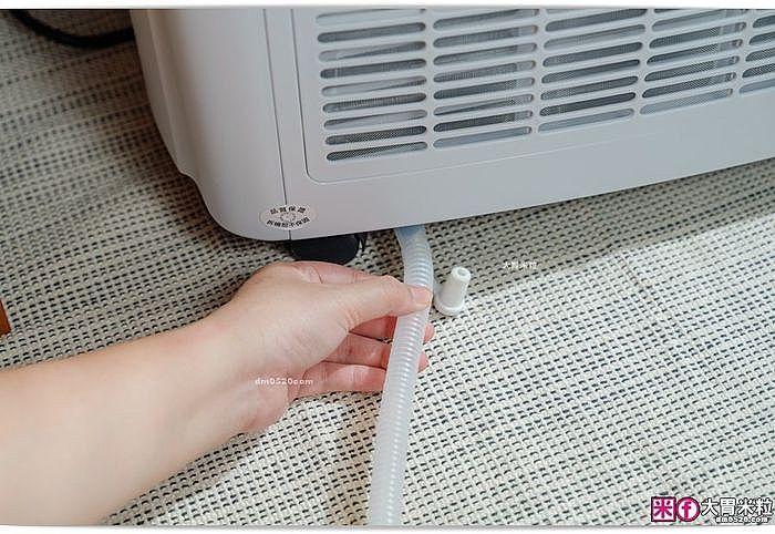 若是吹冷氣製冷過程,不需安裝排水管,但需確保止水塞有裝上