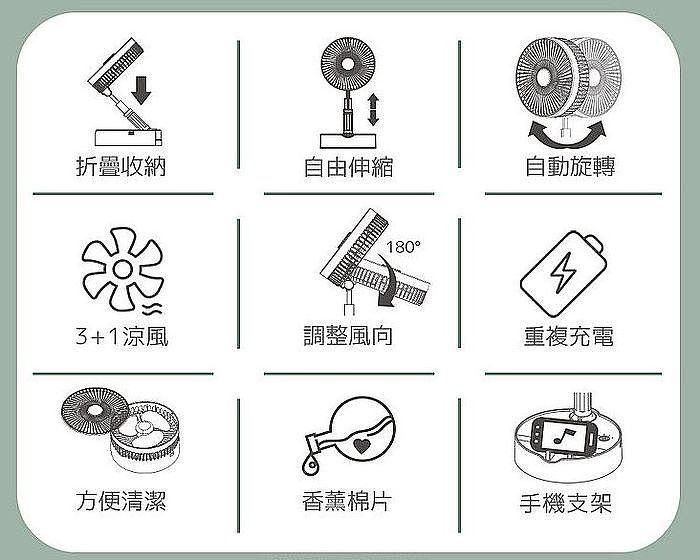 9種特殊功能設計