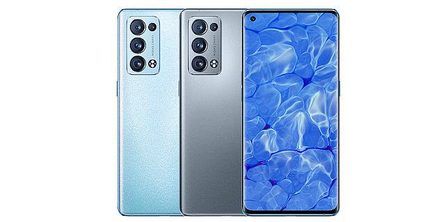 OPPO Reno6 Pro 有極光藍、暮光灰兩種配色