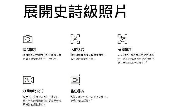 Samsung Galaxy Z Fold3 5G 展開史詩級照片