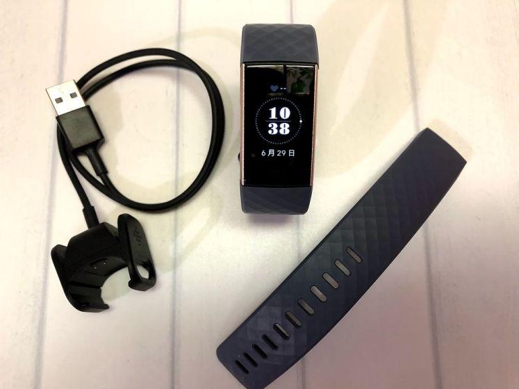 Fitbit charge 3健康手環-開箱、評價,高CP的心律、心肺有氧、睡眠追蹤、自動運動辨識功能,還能綁定信用卡支付呢!