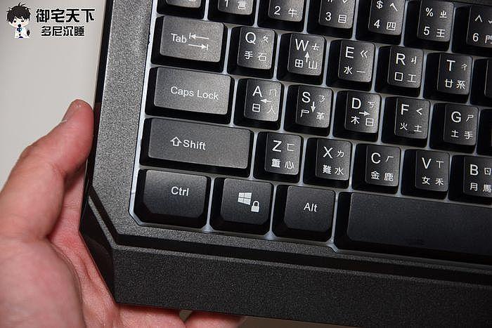 外觀上其實就是普通的鍵盤