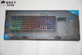 FOXXRAY 電競鍵盤(FOXXRAY 奇點戰狐電競鍵盤 FXR-BKL-39)外盒