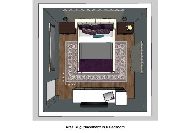Bedroom Area Rugs Placement area rug placement in bedroom | szolfhok