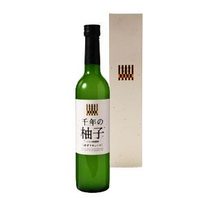【リキュール】三和酒類 千年(ちとせ)の柚子~流域で育った天然素材と日田蒸留所のいいちこ原酒で作っ ...