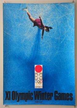 古書古本 Totodo:札幌オリンピック公式ポスター 第3號 [B1] 亀倉雄策