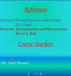 electrical wiring estimation and costing s l uppal 2 electronic instrumentation and measurements david a bell course teachers 1 prof  [ 1024 x 768 Pixel ]