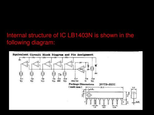 small resolution of ppt this ic is capable of use as ac level meters such as volume electronic circuit diagrams lb1403n ic vu meter