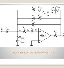 equivalent circuit model for cs lna [ 1024 x 768 Pixel ]