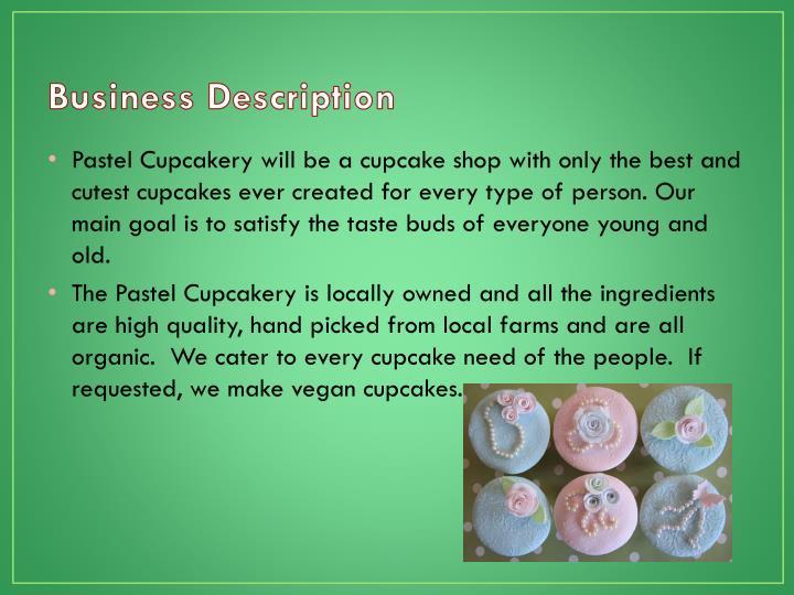 Pastel Cupcakery PowerPoint Presentation